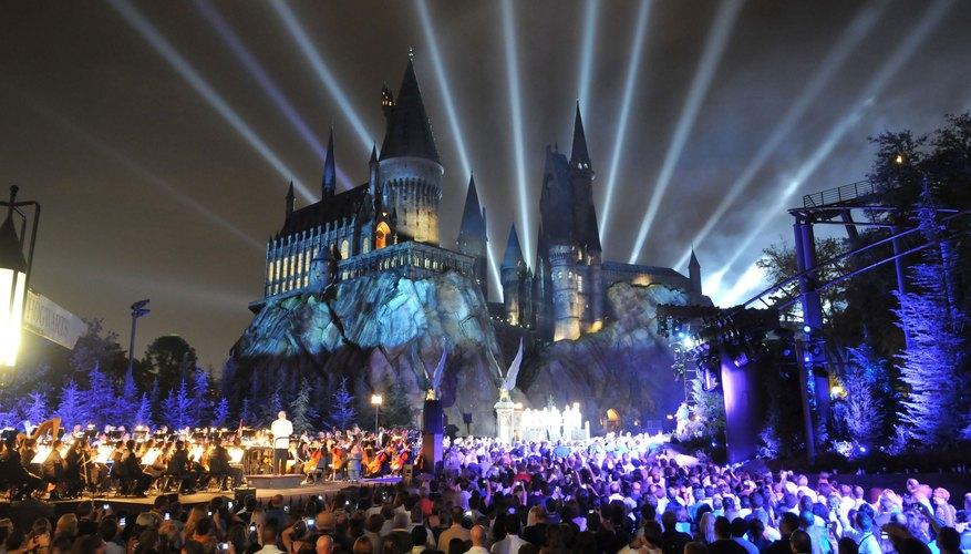 El Wizardly World de Harry Potter en Universal Orlando Resort, FL.