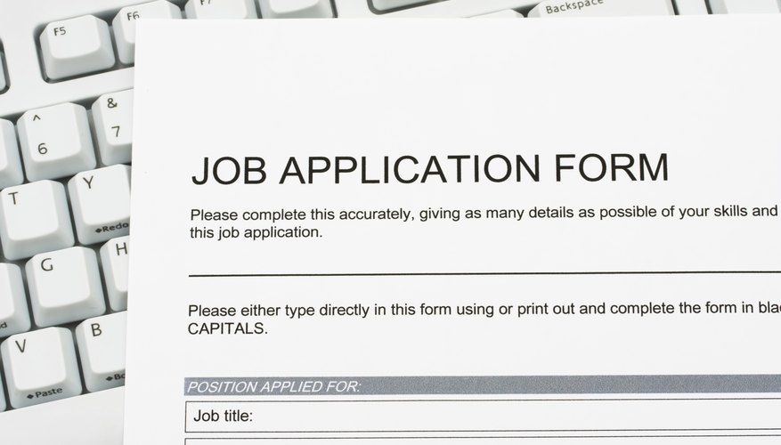 Job Application  Job Qualifications