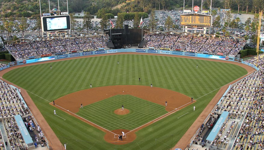 Javier Colon Sings The National Anthem At Dodger Stadium