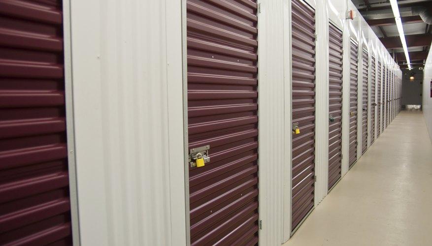 Storage Units & How Does a Storage Unit Auction Work? | Bizfluent