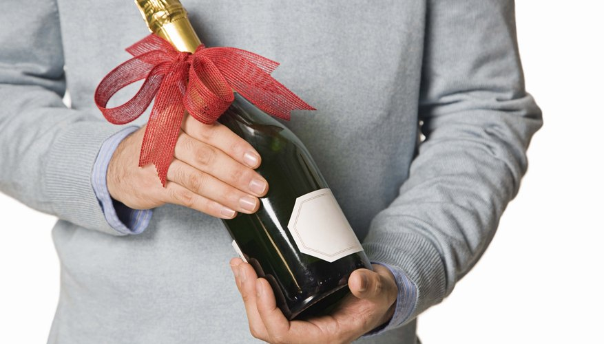 Give your wine gift a special touch with a DIY label.