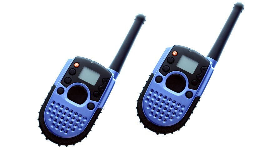 Walkie-talkies may look different but they still have the same simple two-way features.