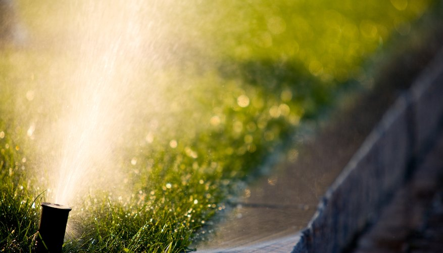 Sprinkler systems inevitably require some maintenance and repair.