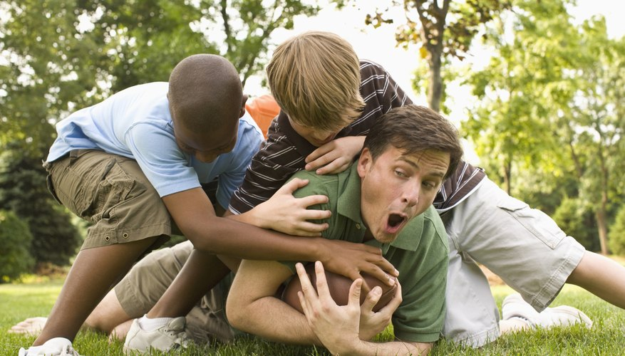 Engage children in play to cheer them up.