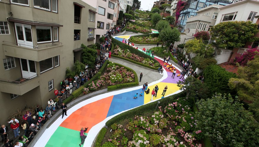 If you can't redecorate San Francisco's Lombard Street, you could always use a regular board.