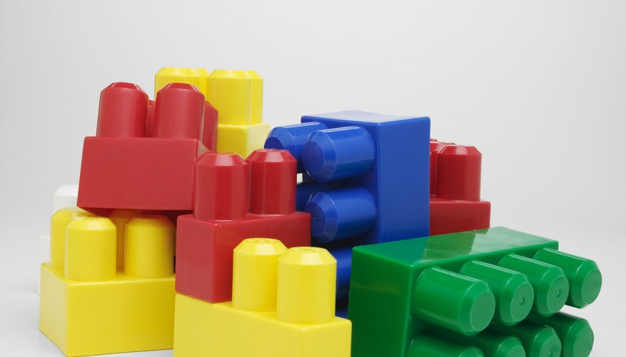 Build small and easy items with LEGO bricks.