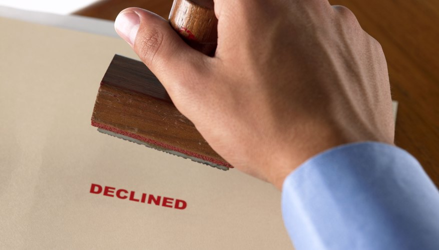Lenders decline modifications for homeowners who can't afford the new payment.