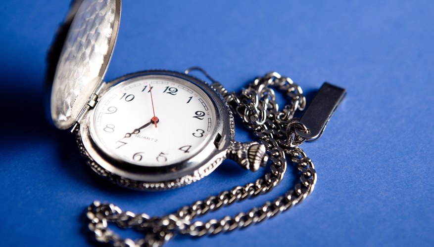 Antique pocket watches are valuable to collectors.