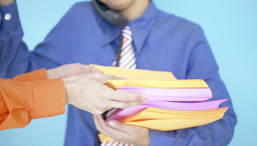 Cuando las cosas se pongan difíciles, usa tu registro como guía para dividir tus tareas.