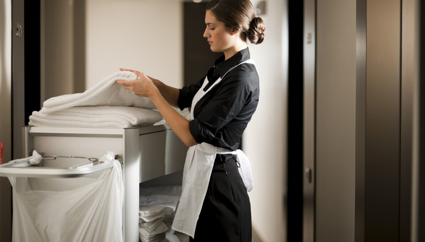 Supplies are critical to a housekeeping operation.
