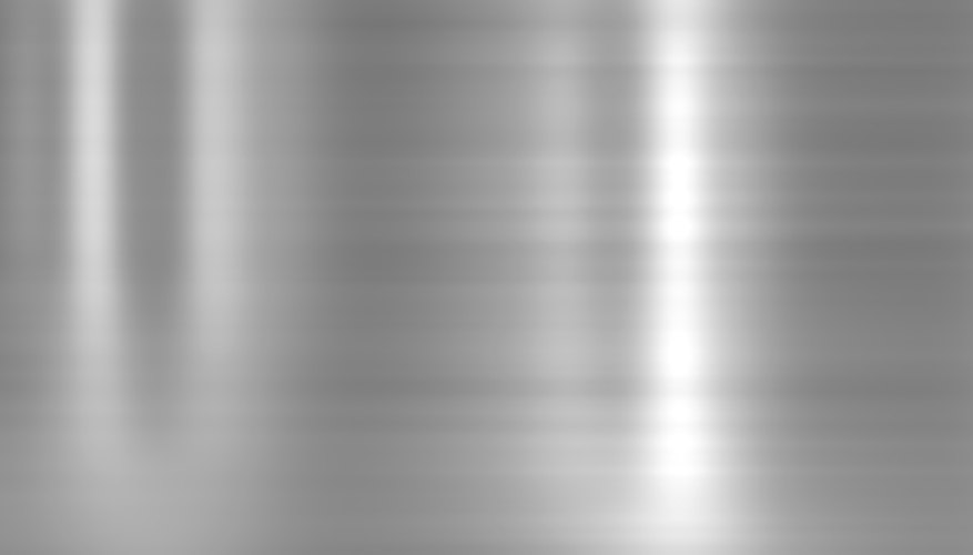 Close-up of an aluminum sheet.