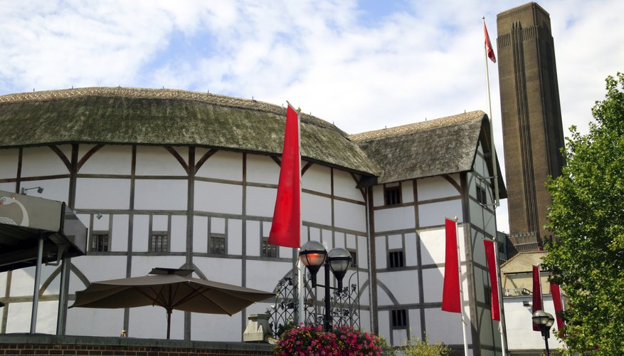 The Globe Theatre was built in 1599 for Shakespeare and his Lord Chamberlain's Men.