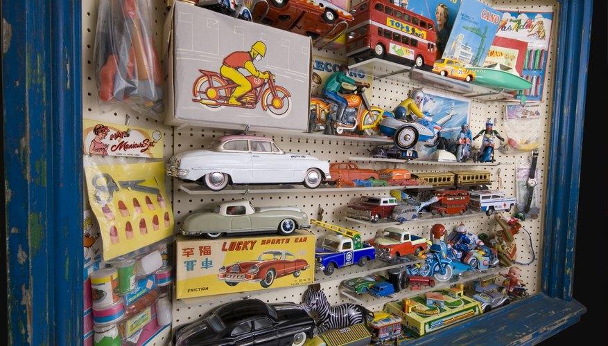 Vintage toy display