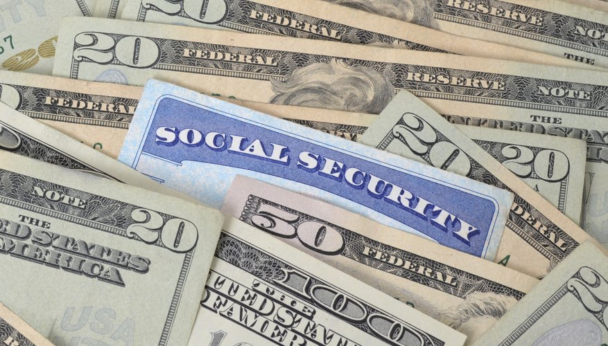 Social Security pays monthly survivor benefits.