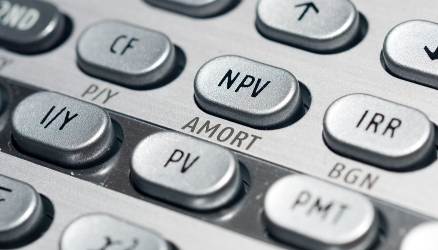 Loan calculations are quick and easy with the Texas Instruments financial calculator.