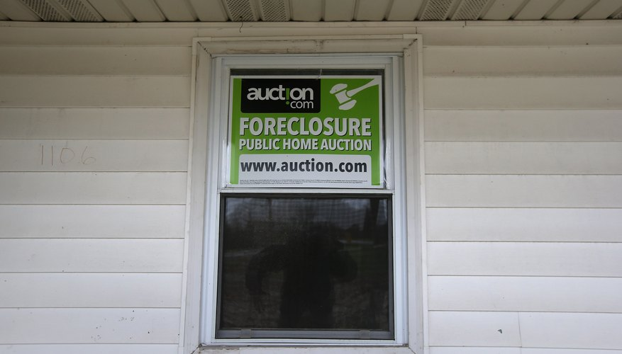 Overdue mortgage payments can lead to foreclosure.