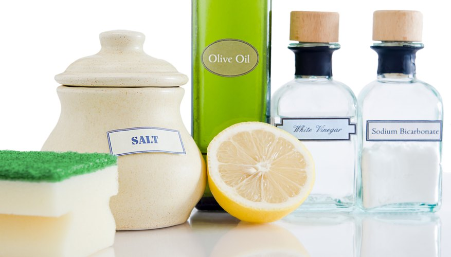 White vinegar and other natural products.