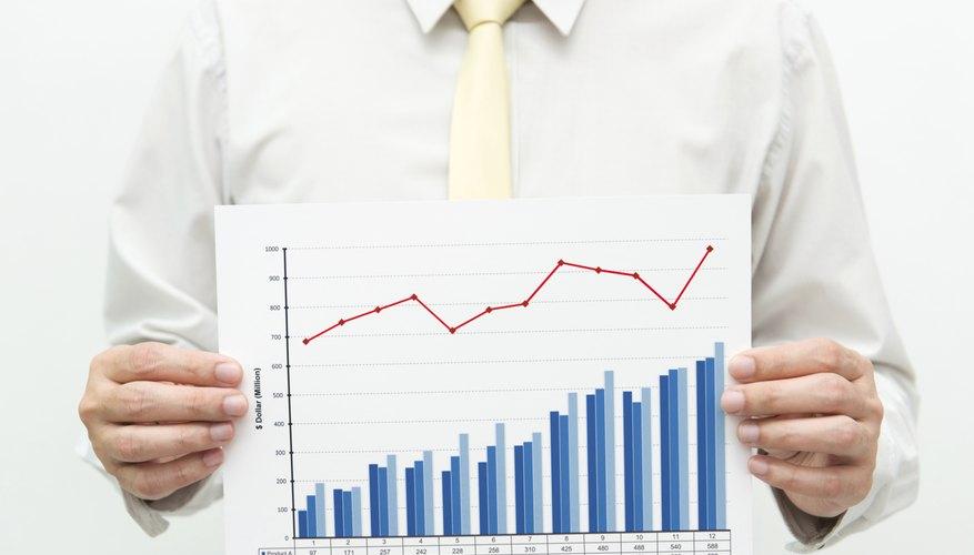 Marketing strategy chart.