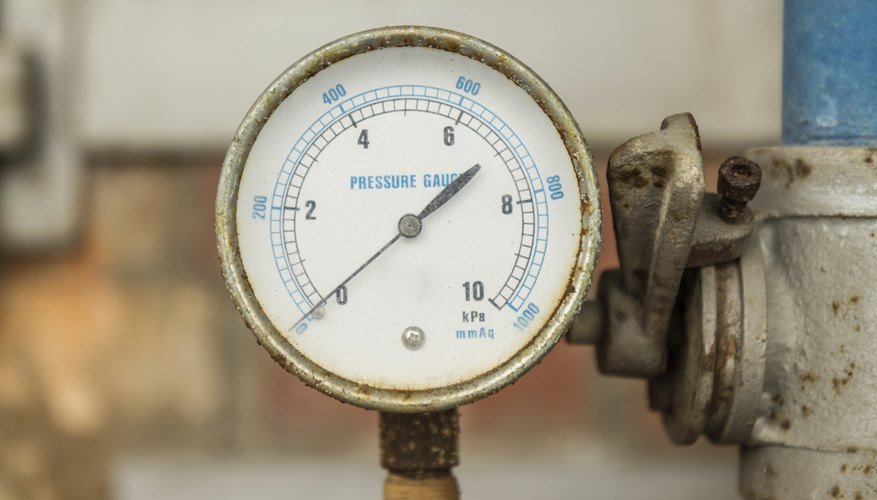 La alta presión se relaciona con cielos despejados y días secos.
