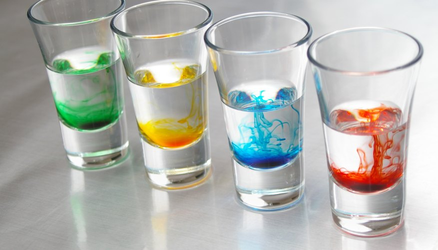 How to Make Water Clear After Adding Food Coloring