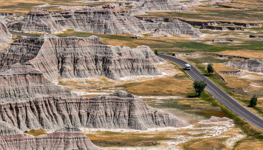 The Badlands of South Dakota are some of the most recognizable formations of the Great Plains.
