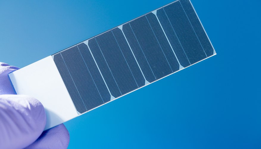 How to Make a Solar Panel for a Science Project