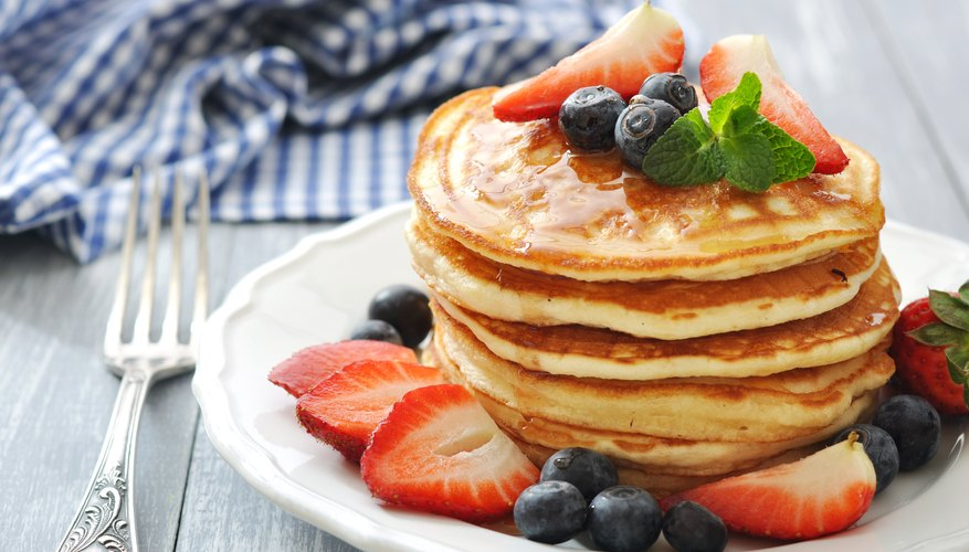 How to Make Homemade Pancakes Without Milk