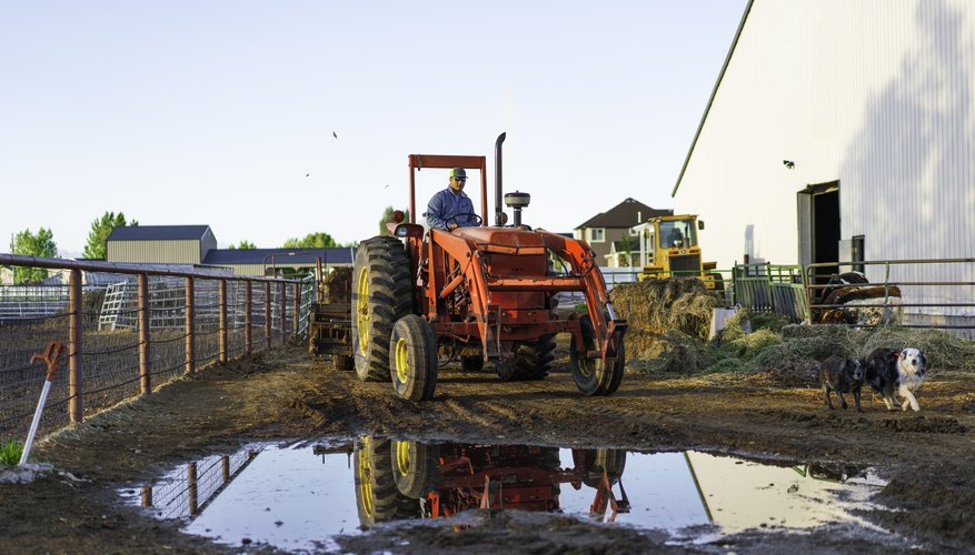 How to Depreciate a Farm Tractor on Income Tax