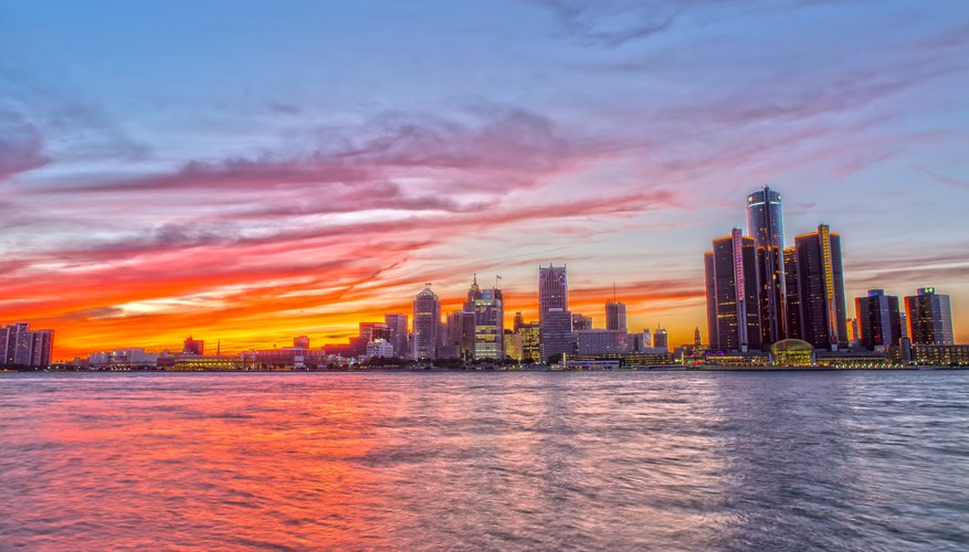 Best Time to View Sunsets in Detroit