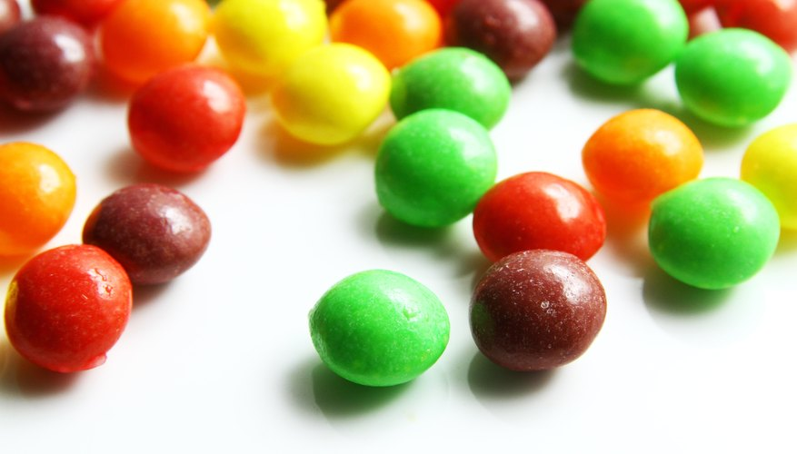 Skittles Science Project Ideas | Sciencing
