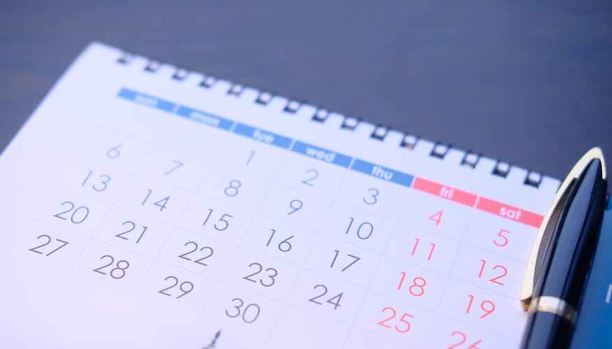 How To Calculate Dates For Bi Weekly Payroll Bizfluent