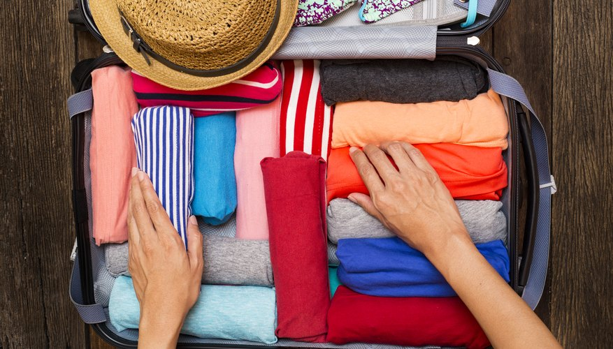 How to Roll Clothes for Packing