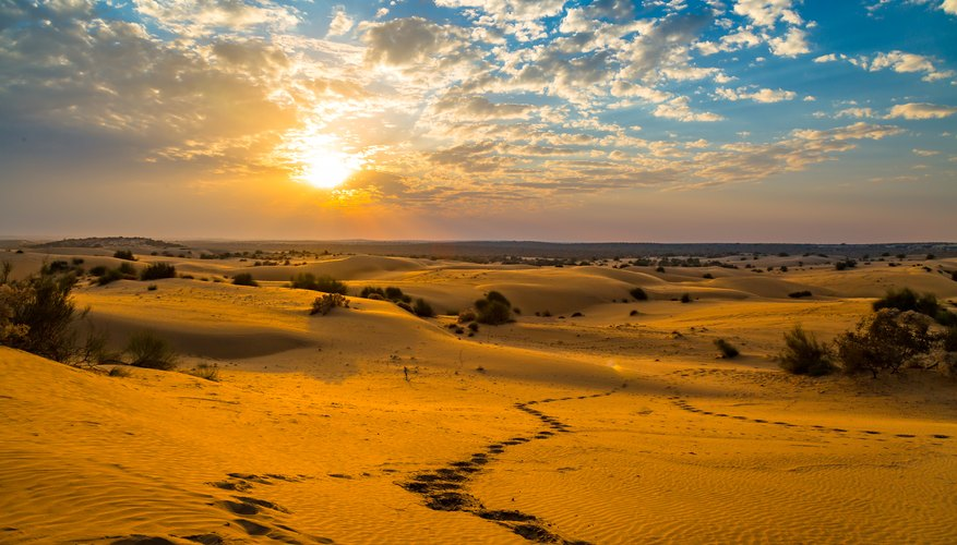 List Of Deserts In India Sciencing
