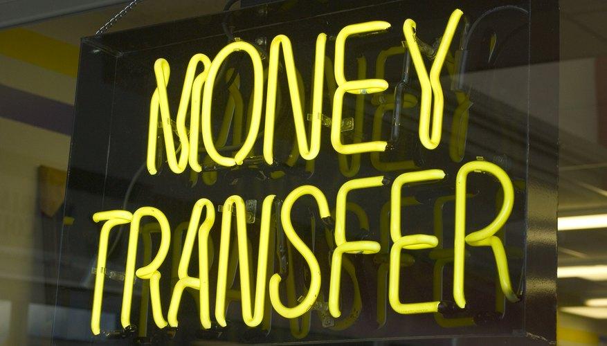 Money Transfer Neon