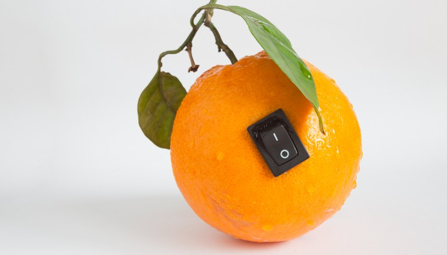 Why Do Citrus Fruits Produce Electricity Sciencing