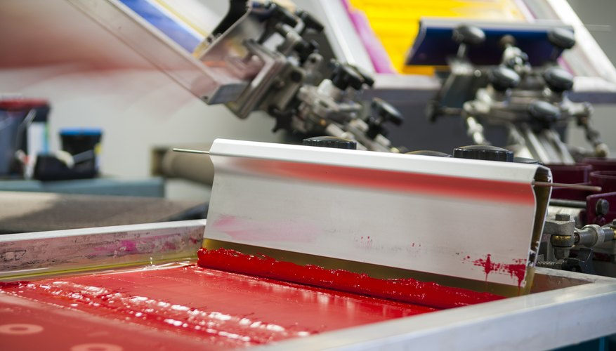 What Are the Different Types of Screen Printing?