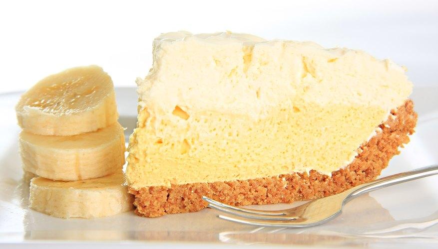 Easy banana cream pie graham cracker crust recipe