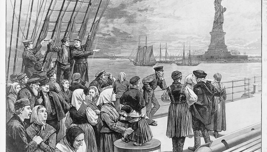What Jobs Did Immigrants Work During the 19th Century?
