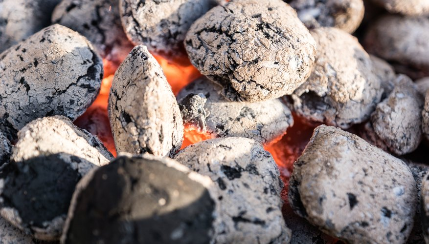 Charcoal that you use for grilling contains carbon.
