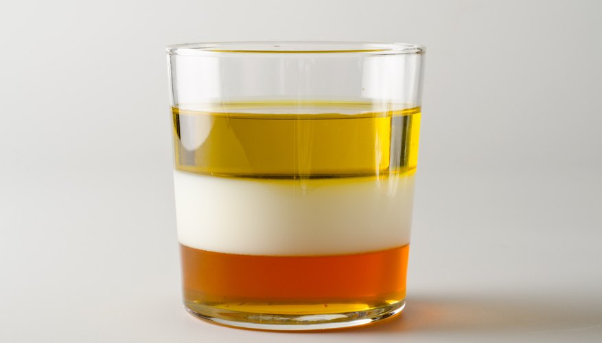 examples of immiscible liquids | sciencing