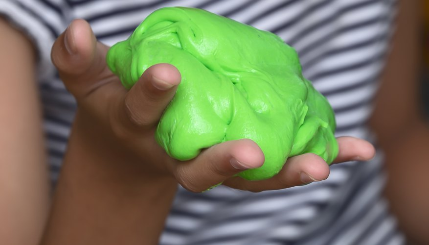 How to Make Slime for Kids Without Borax, Food Coloring and White Glue