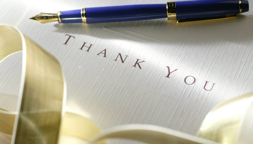 How to reply to a thank you letter bizfluent letters of appreciation from customers colleagues and business associates can be used as a stepping stone to improve customer relations or enhance an spiritdancerdesigns Image collections