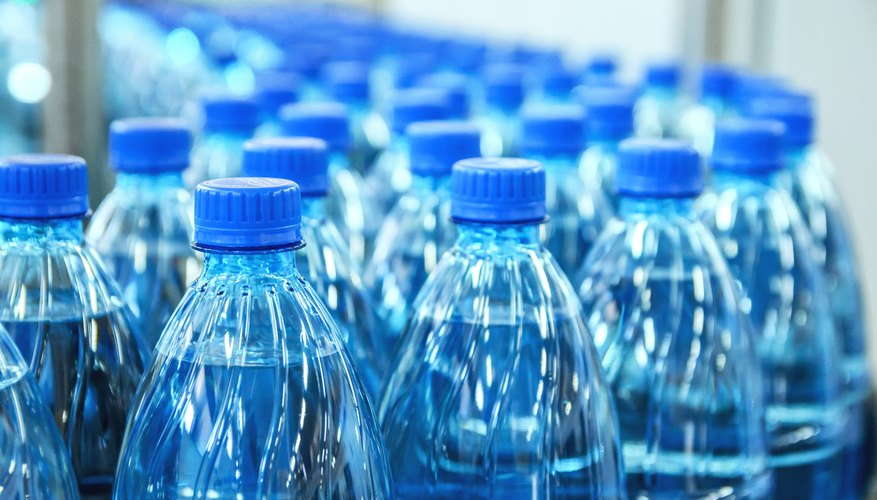 what are the raw materials of plastic bottles sciencing