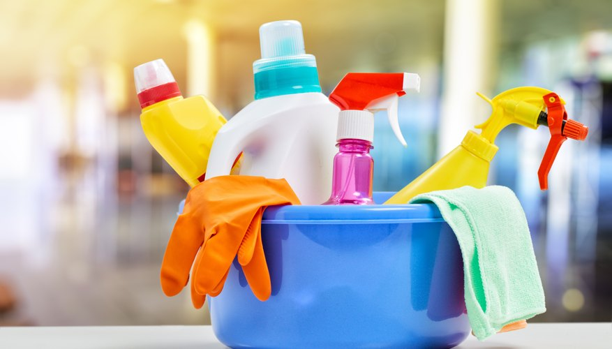 Many cleaning products are loaded with chemicals that can harm your health.