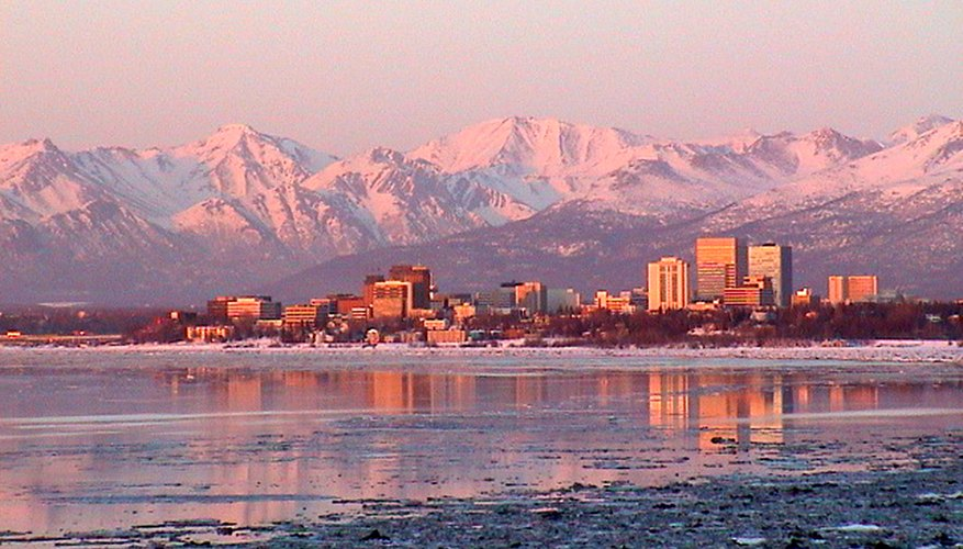 Best Time to View Sunsets in Anchorage