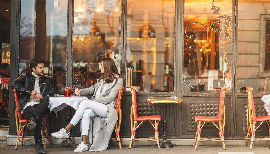 A classic Parisian cafe
