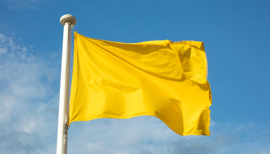 What Does a Yellow Flag Mean at the Beach?