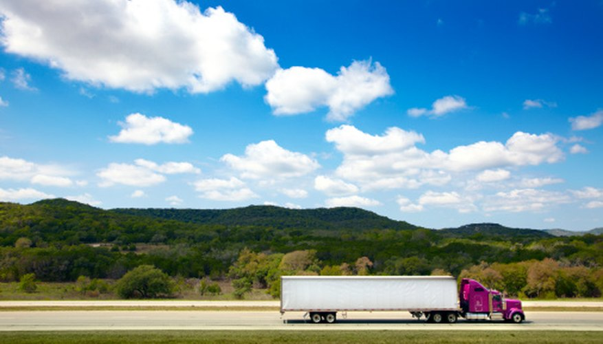 You will need a commercial driving license to drive a long haul truck.