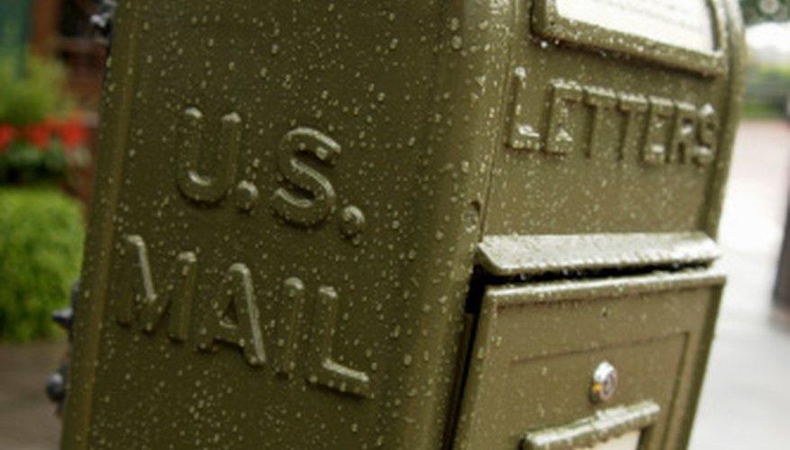 The U.S. Postal Service is one alternative.