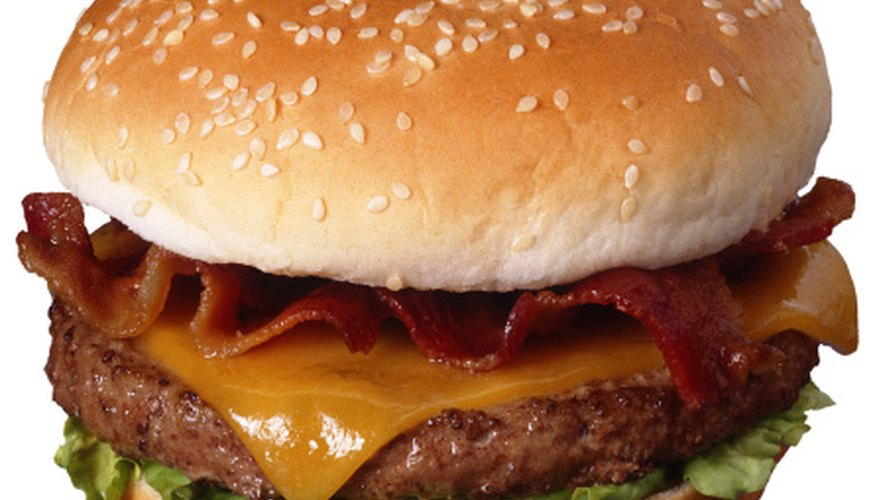 A speech about fast food deserves a yummy attention-getter.
